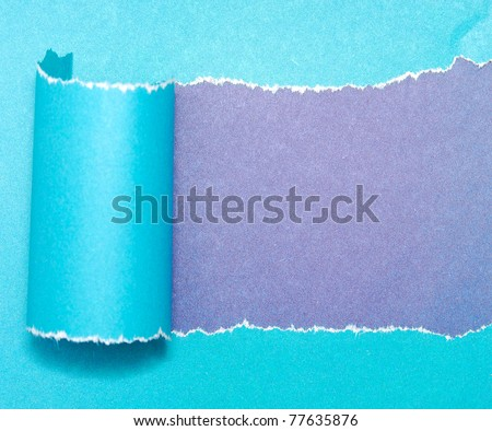 colorful paper with space - stock photo