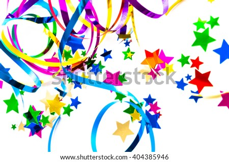 colorful party deco