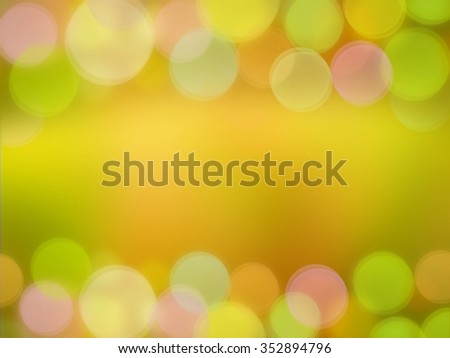 colorful  pastel blur bokeh border and frame for valentine ,birthday,wedding card or background for holiday decoration with empty space - stock photo