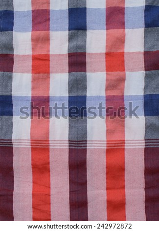 Colorful patterns of loincloth - stock photo