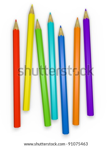 Colorful Pencils 1