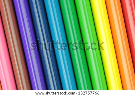 Colorful pencils bar