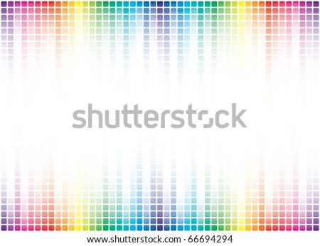 colorful pixel background with copy-space - stock photo