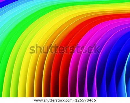 Colorful rainbow color background