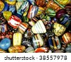 Colorful rocks - stock photo