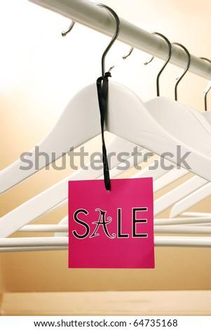 Colorful sale label concept - stock photo