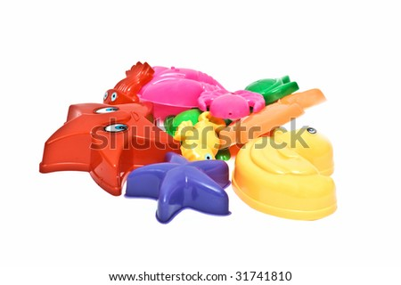 Colorful sandbox toys