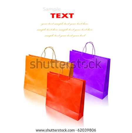 Colorful shopping bag (Clean cover).