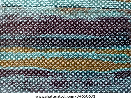 colorful snake skin image for using as background - stock photo
