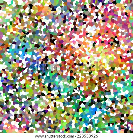 Colorful Speckled Abstract - stock photo