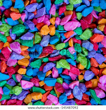 colorful stone texture background - stock photo