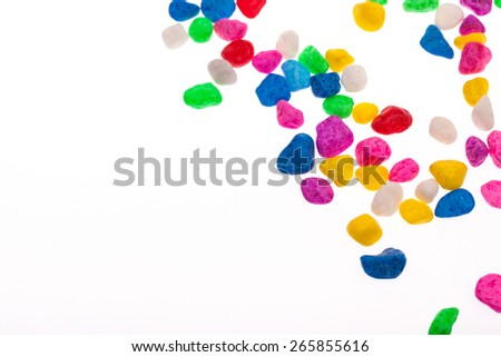 colorful stone texture background. - stock photo