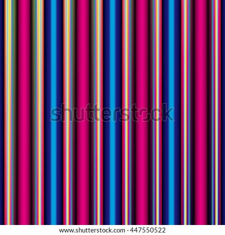 Colorful striped abstract background, variable width stripes