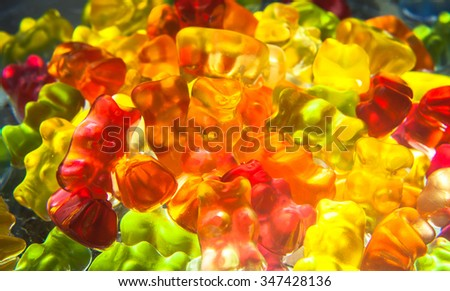 colorful sweets Abstract macro backgrounds