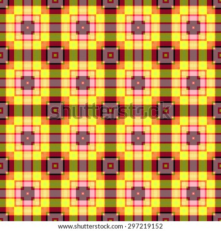 colorful Tartan seamless background