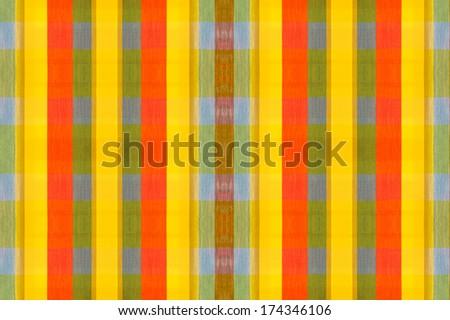 Colorful textile as background.