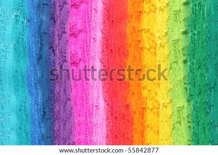 colorful texture pastel stick dust - stock photo