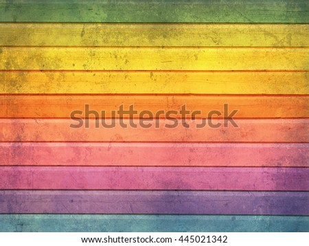 Colorful textured wood for background - stock photo