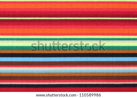 Colorful towel - stock photo