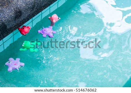 Colorful toys swimming pool for baby and kid in Swimming Pool
