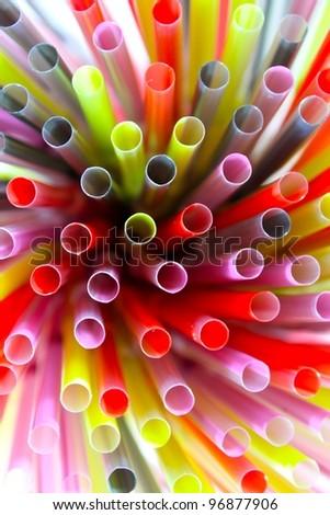 colorful tube show moving energy background - stock photo
