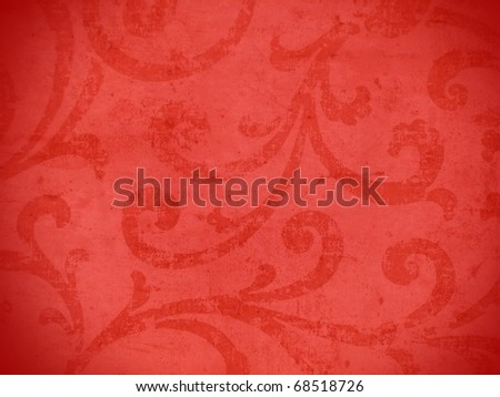 Colorful vibrant arabesque style decorative background. More of this motif & more ornaments in my port. - stock photo