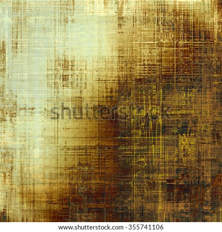Colorful vintage texture. With different color patterns: yellow (beige); brown; gray; black - stock photo