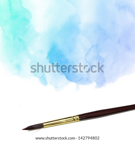 Colorful Water Color Background. Abstract Background. Grunge Background. Painting Background. Vintage Background. Art background. Hand draw painting background and texture. - stock photo