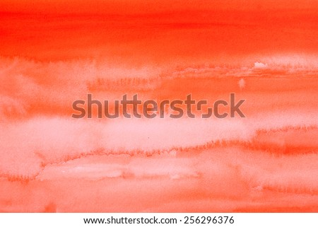 colorful watercolors - stock photo