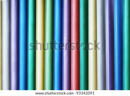 Colorful wooden wall texture background