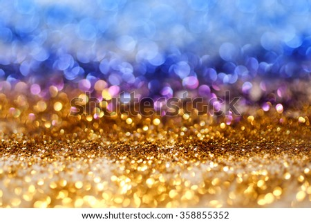 Colorfull glitter background - stock photo