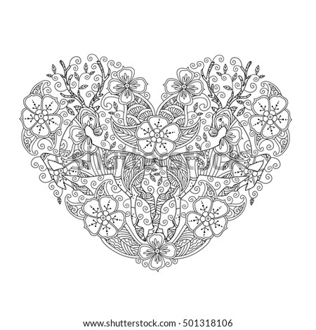 Heart Shaped Flower Stock Images Royalty Free Images Vectors