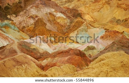 Colors of Sand - stock photo