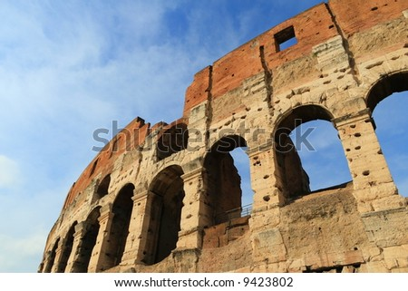 Colosseum in Rome, Italy,Europe.