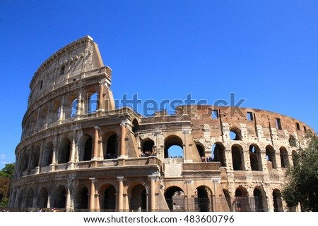 Colosseum Roma Italy