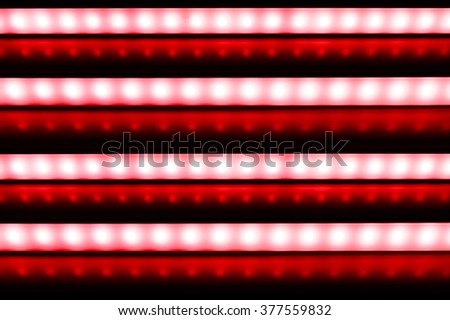 colour of led rigid strip lighht : four of led light line on red