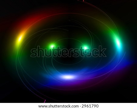 Coloured fires - stock photo