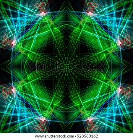 Colourful abstract , Abstract background Laser light multicolored for design , The pattern on the wall