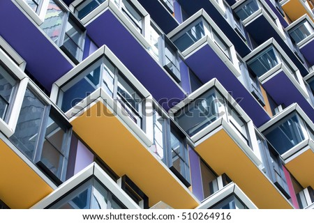 Colourful Architecture Detail