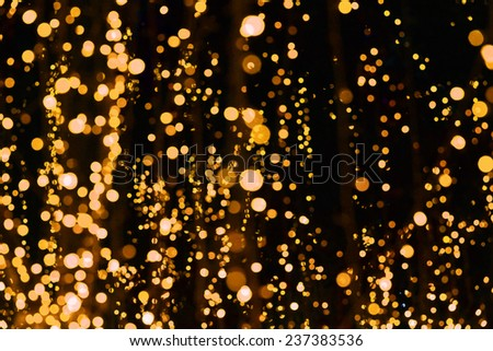 Colourful Gifts Festival in night light background