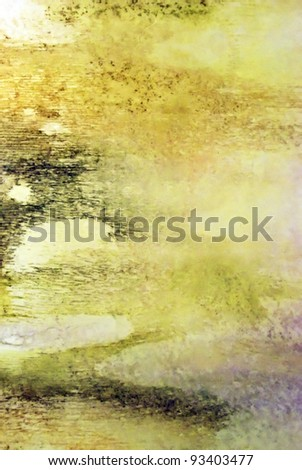 Colourful layers of watercolour background - stock photo