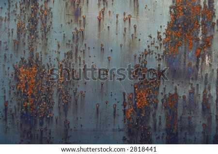 colourful rusty background texture - stock photo