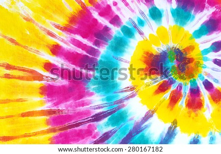 colourful tie dye abstract background.  - stock photo