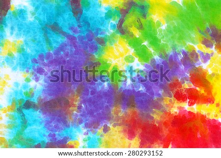 colourful tie dye abstract background.