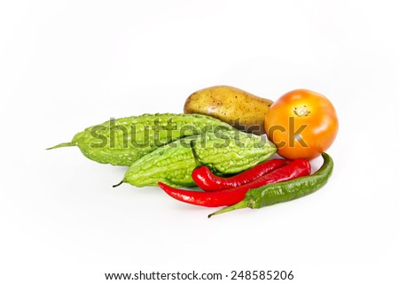 colourful vegetables - stock photo