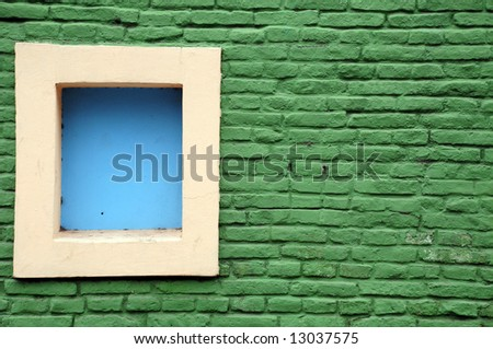 Colours Of La Boca - stock photo