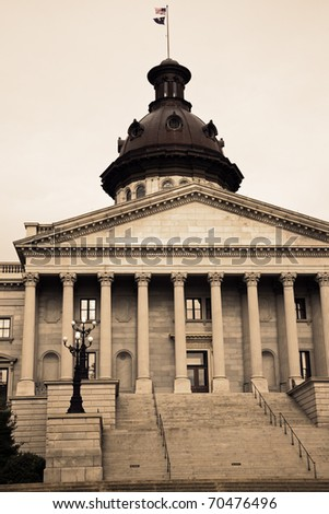 Columbia, South Carolina - State Capitol Building