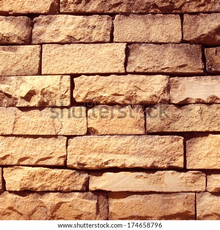 Columnar sandstone background