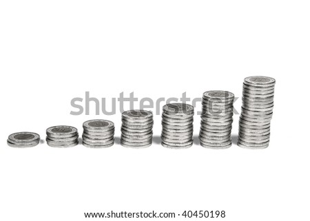 Columns of coins