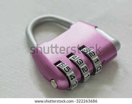 combination lock, digital code. safety, protection, privacy - stock photo